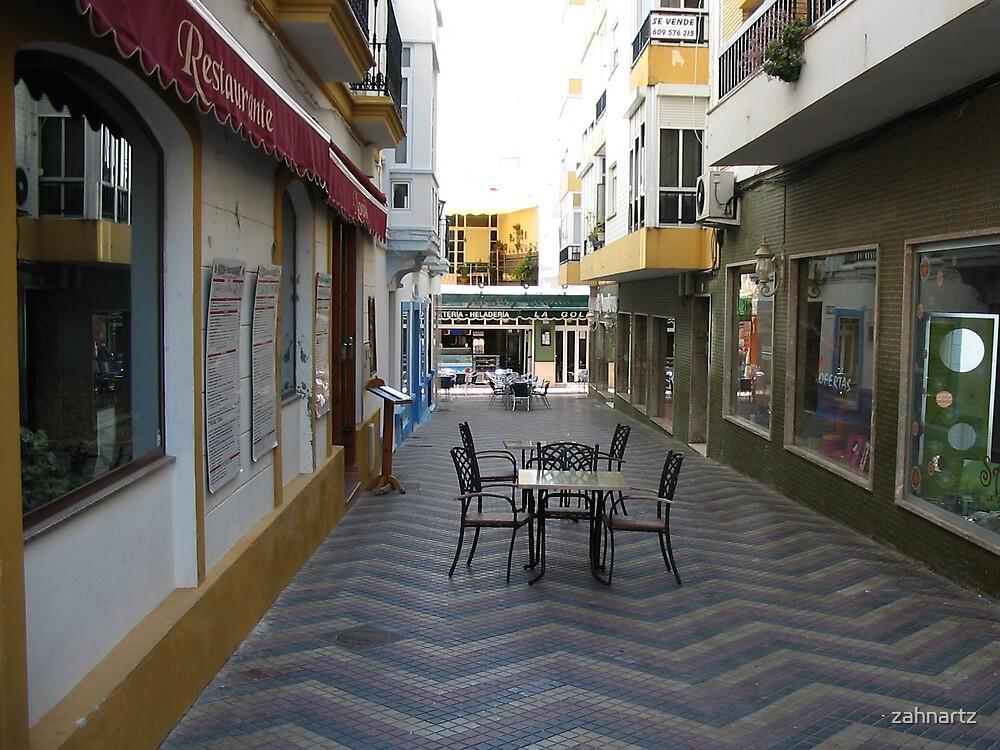 Ayamonte Alley by zahnartz