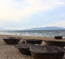 The Paradise Beach III - Hoi An, Vietnam. by Tiffany Lenoir