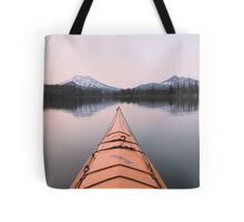 Sparks Lake kayak, Oregon Tote Bag