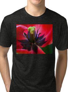 Close up ............ Tri-blend T-Shirt