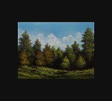 Forest Landscape in Oil Unisex T-Shirt