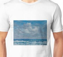 Ocean View Seascape in Oil Unisex T-Shirt