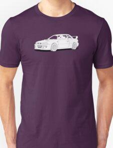 Subaru Impreza 22B STI Type UK Line Illustration T-Shirt
