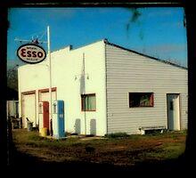 Esso Station by RobertCharles