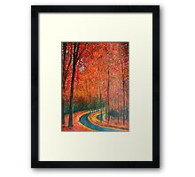 Beautiful colors of Autumn Framed Print