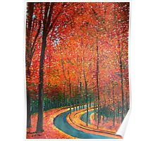 Beautiful colors of Autumn Poster