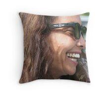 3D Friend Throw Pillow