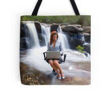 Work / Flow Tote Bag