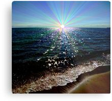 Rainbow Reflections Metal Print