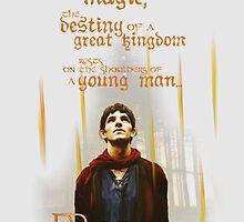 Merlin: Myth and Magic by adamie