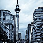 Victoria St., Auckland by Donna Rondeau