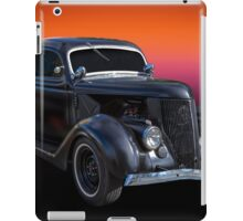 Matt Black iPad Case/Skin