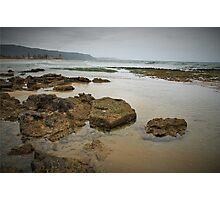 Rocks at Wonoona Beach Photographic Print