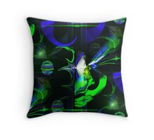 The Fairy Thought of You Plaid Throw Pillow