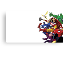 avengers attack Canvas Print