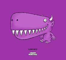 Growlasaurus by furrrymonsters