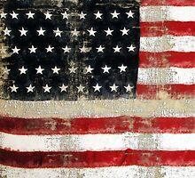 Ginkelmier Inspired ~  USA FLAG by ginkelmier