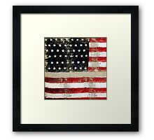 Ginkelmier Inspired ~  USA FLAG Framed Print