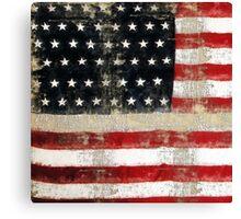 Ginkelmier Inspired ~  USA FLAG Canvas Print
