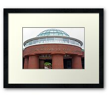 Dome Framed Print