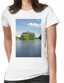 Markeaton Park Lake, Derby  Womens Fitted T-Shirt
