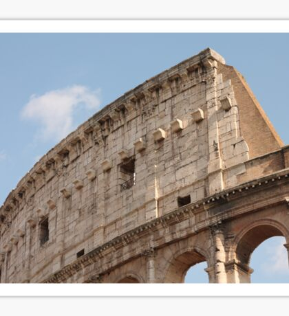 Colosseum in Springtime: Ancient Rome, Italy Sticker