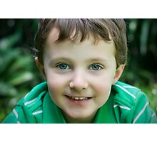 Green Eyes Photographic Print