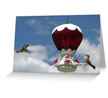 Join me for a drink? Greeting Card