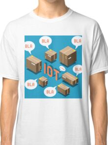 Isometric Internet of Things Concept Classic T-Shirt