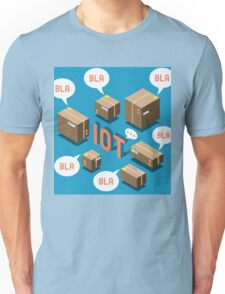 Isometric Internet of Things Concept Unisex T-Shirt