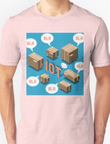 Isometric Internet of Things Concept T-Shirt