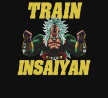 TRAIN INSAIYAN LEGEND by resjein