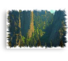 Magestic Rock Formations Canvas Print