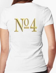 GOLDEN 4, NUMBER FOUR, 4, NUMBER 4, FOUR, 4, FOURTH, Competition, TEAM SPORTS,  T-Shirt