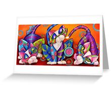 Party Animals Kitty Style Greeting Card
