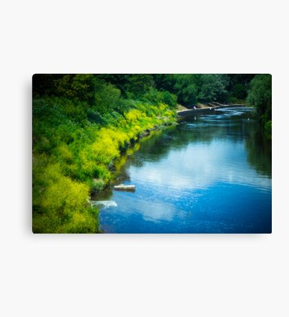River Side Canvas Print
