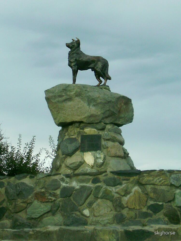 "The ""Original"" Sheep Dog Statue by skyhorse"
