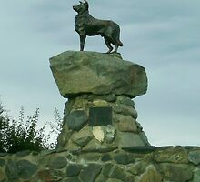 "The ""Original"" Sheep Dog Statue by skyhorse"