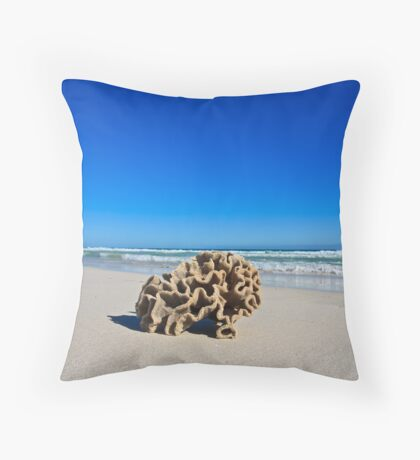 Brain Washed Throw Pillow