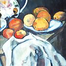 A Tribute to Cezanne by Carol Berliner