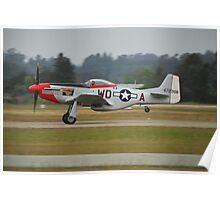 """P-51D """"Ridge Runner"""" Poster"""
