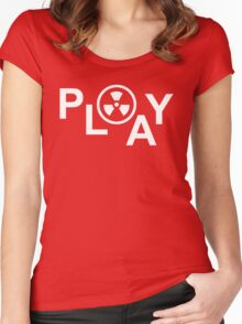 Playful Women's Fitted Scoop T-Shirt