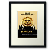 "The Wicker Man ""Vintage Style""  Framed Print"