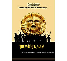 """The Wicker Man """"Vintage Style""""  Photographic Print"""