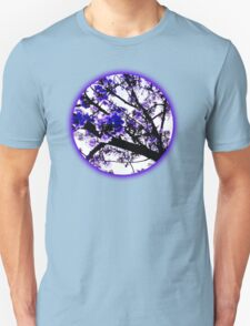 Blue blossoms Unisex T-Shirt