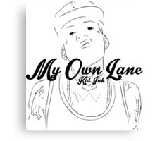 My Own Lane Canvas Print