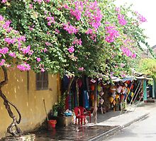 Streets full of history III - Hoi An, Vietnam. by Tiffany Lenoir