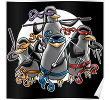 teenage mutant ninja penguin Poster