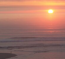Lincoln City sunset by Soulmaytz