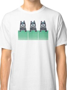 Cats in Boxes Classic T-Shirt